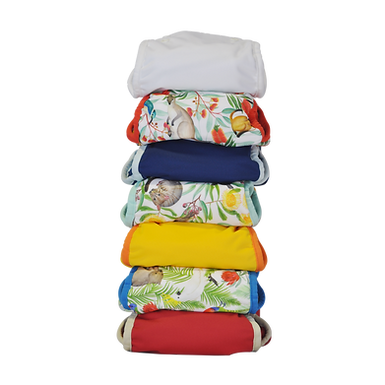 Seedling Baby Nappy Bundle -7 pack