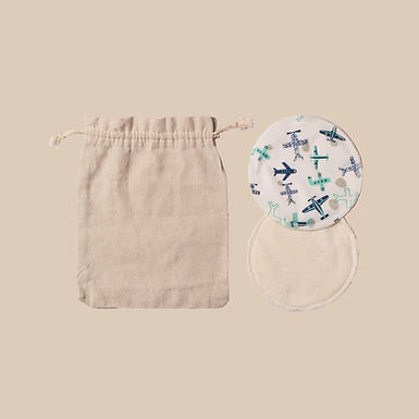 Hippynut Chest Nut - Bamboo Breast Pads