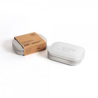 Hydrophil Travel Soap Box in Stainless Steel