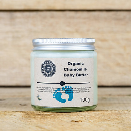 Heavenly Organics Organic Chamomile Baby Butter