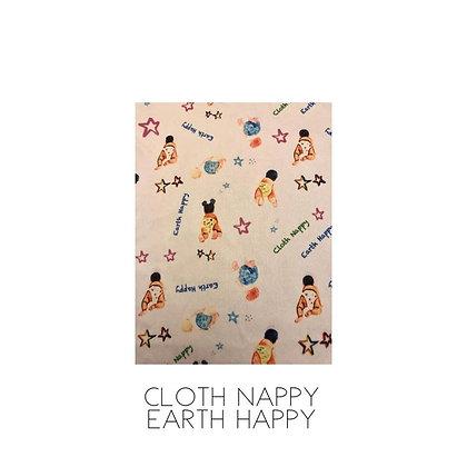 Bells Bumz November Preorder Cloth Nappy Earth Happy Pocket Nappy