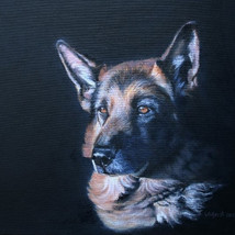 dog painting 1