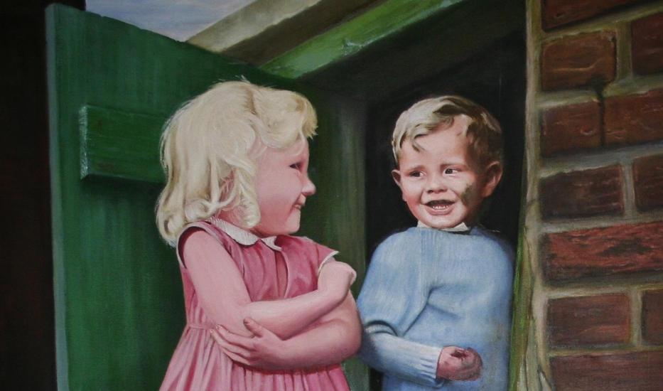 oil painting of children .JPG