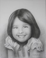 drawings from photos of girl