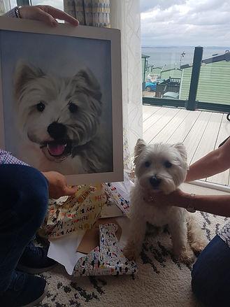 dog portrait sample