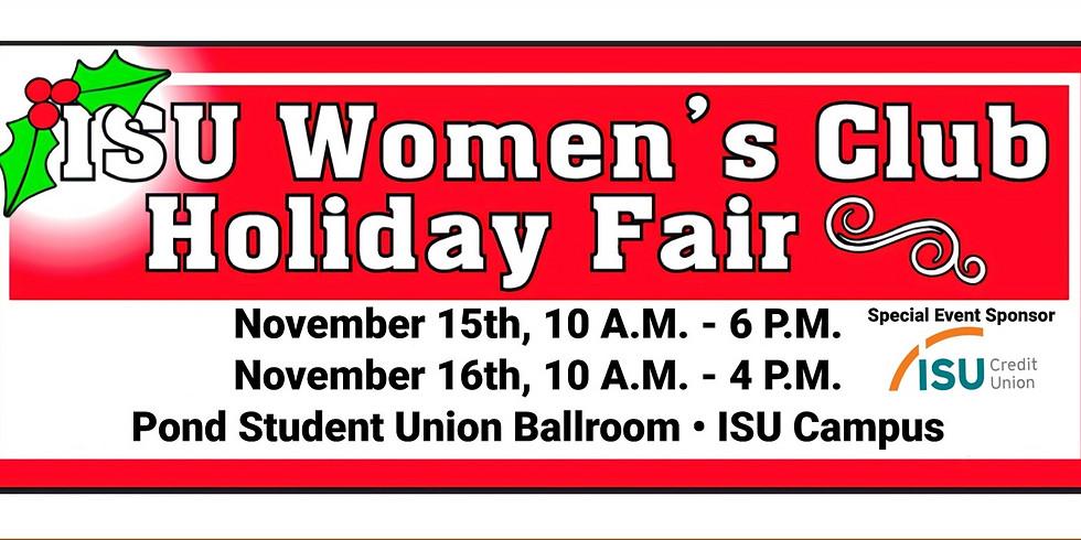 ISU Women's Club Holiday Fair
