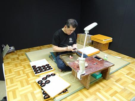 越前漆器 うるしの匠展が開催されました【9/14~9/23】