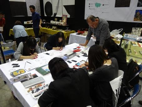 ツーリズムEXPOジャパンにて沈金体験が行われました【9/23】