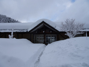 大雪のためうるしの里会館は臨時休館とさせていただきます【2/13・2/14】