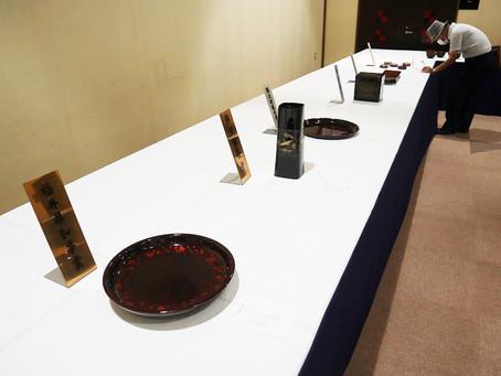 令和2年度 第70回越前漆器展覧会が開催されました