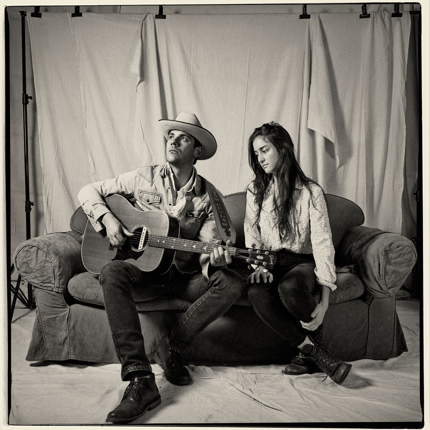 Sam Outlaw with Molly Parden