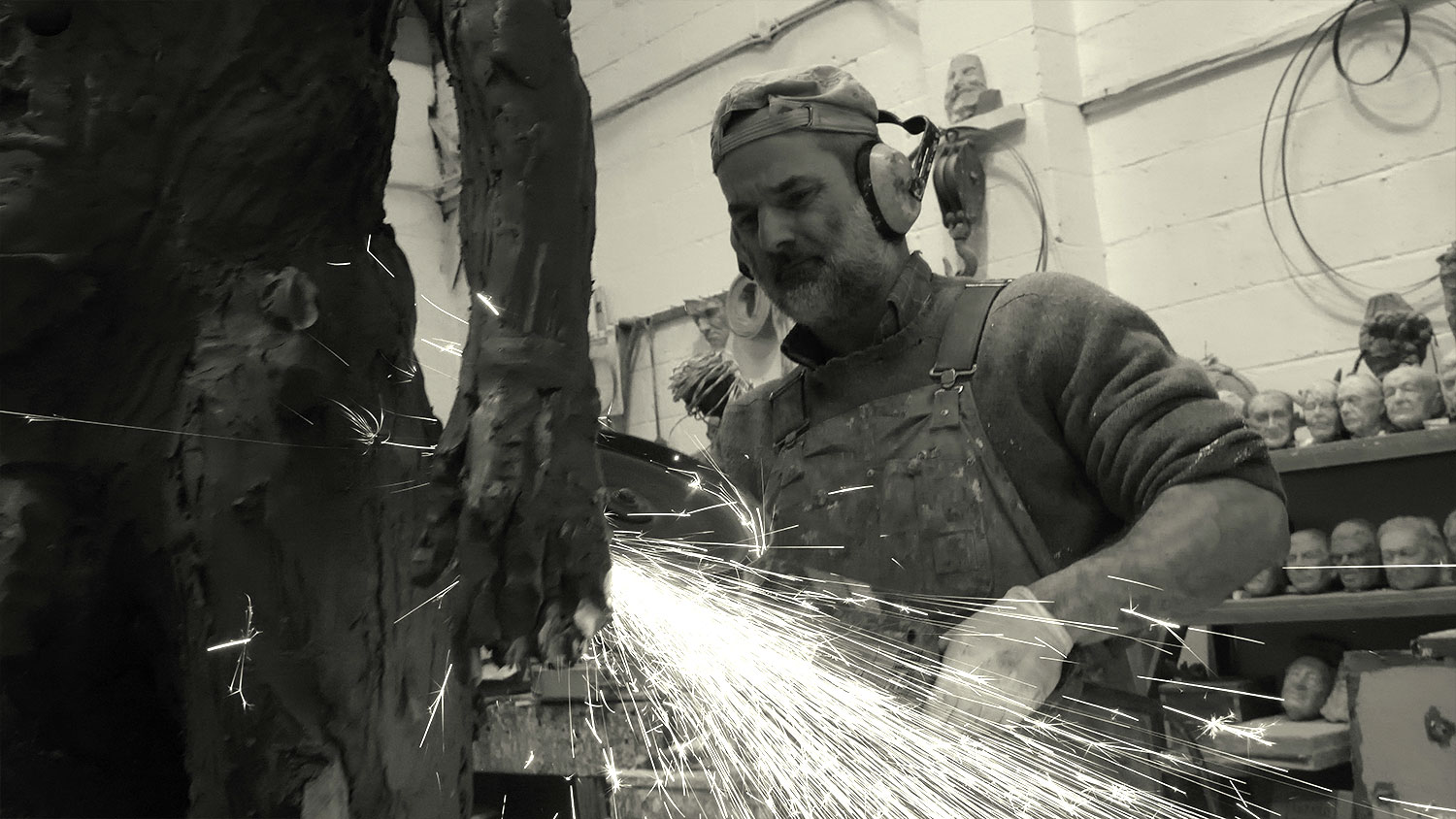 Welding the armature