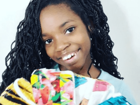 "Kind 11-Year-Old Girl Sews Hundreds Of Masks For The Homeless: ""It's easy"""