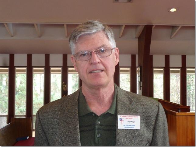 Steve Rogge - Senior Warden