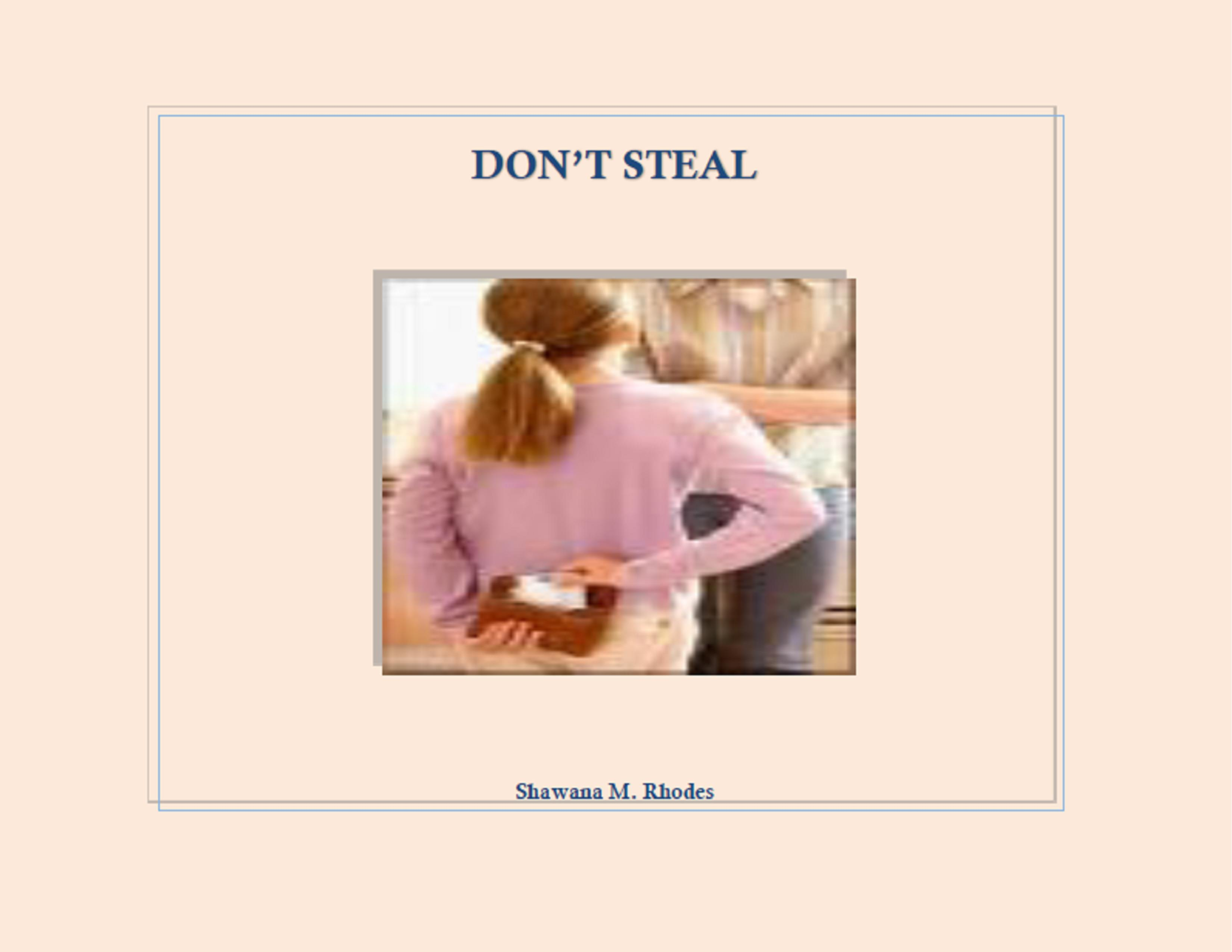 Teaching kids not to steal book.