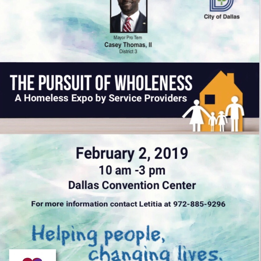 HOMELESS EXPO by PROVIDERS / THE PURSUIT of WHOLENESS (1)