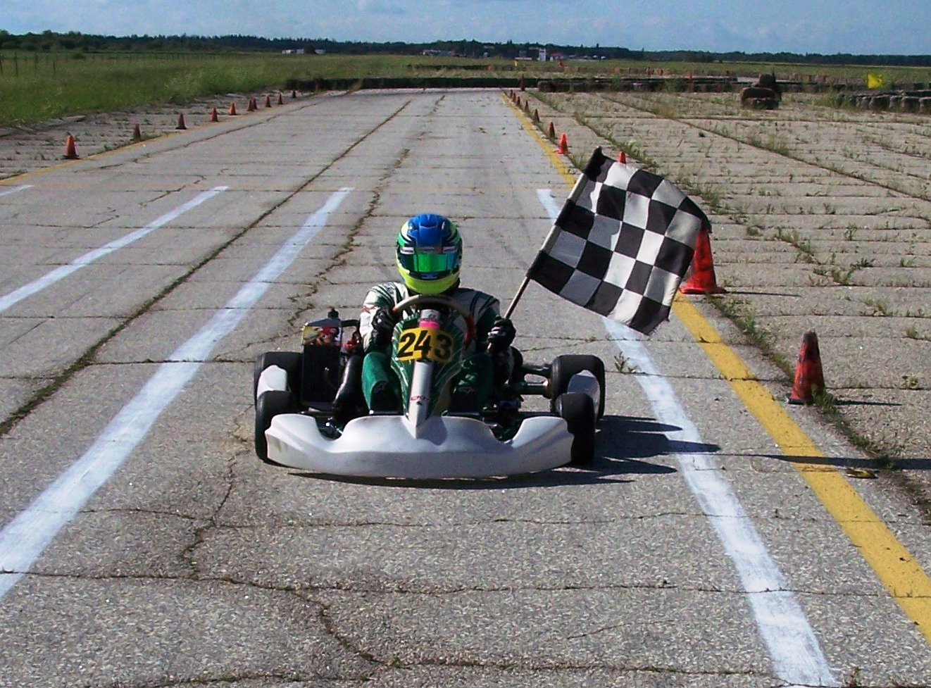 Garrett Gulenchyn Junior Rotax Class Winner Race 4 & 5