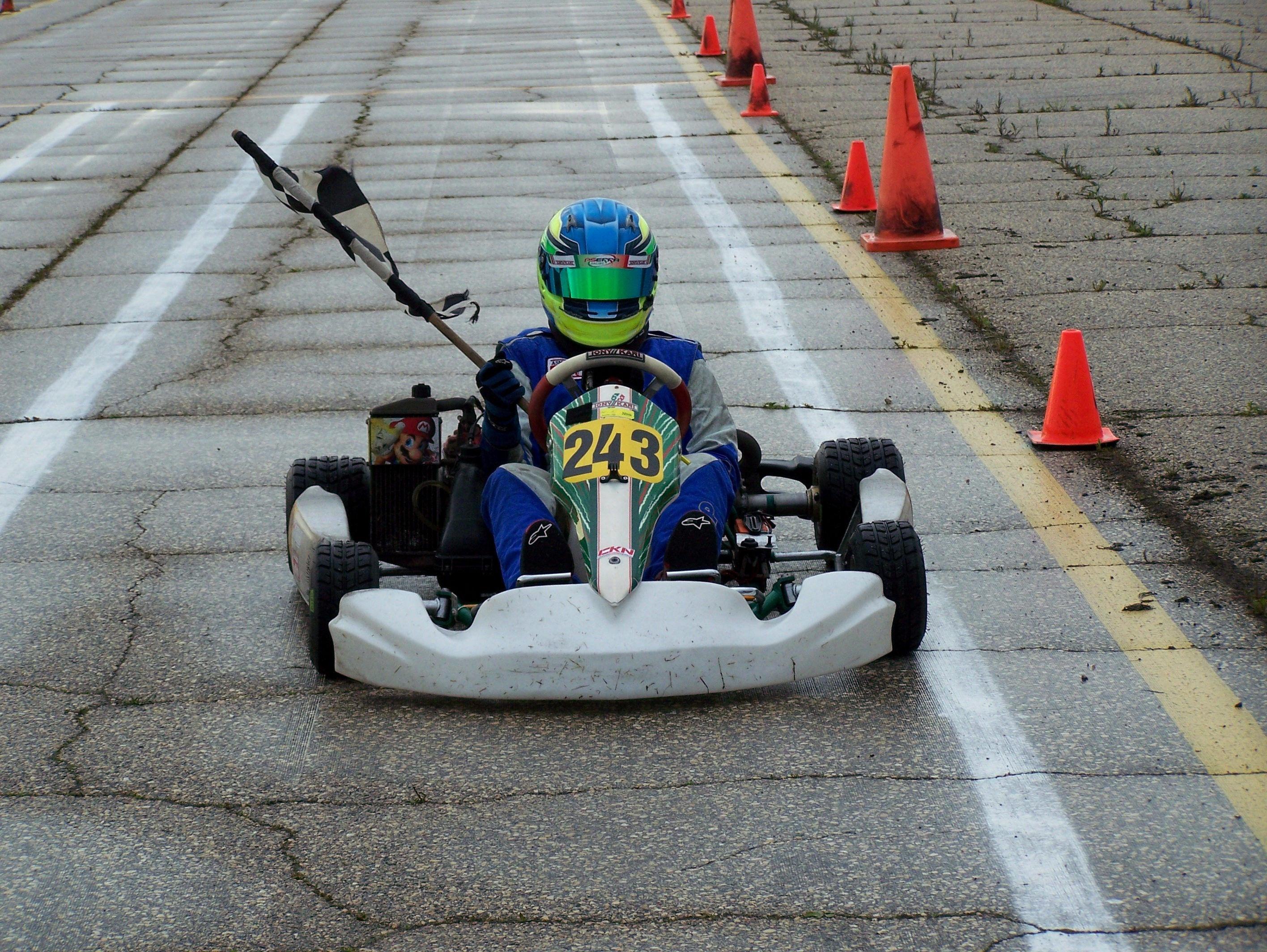 Garrett Gulenchyn Junior Rotax Class Winner
