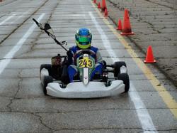 Garrett Gulenchyn Junior Rotax Class Winner