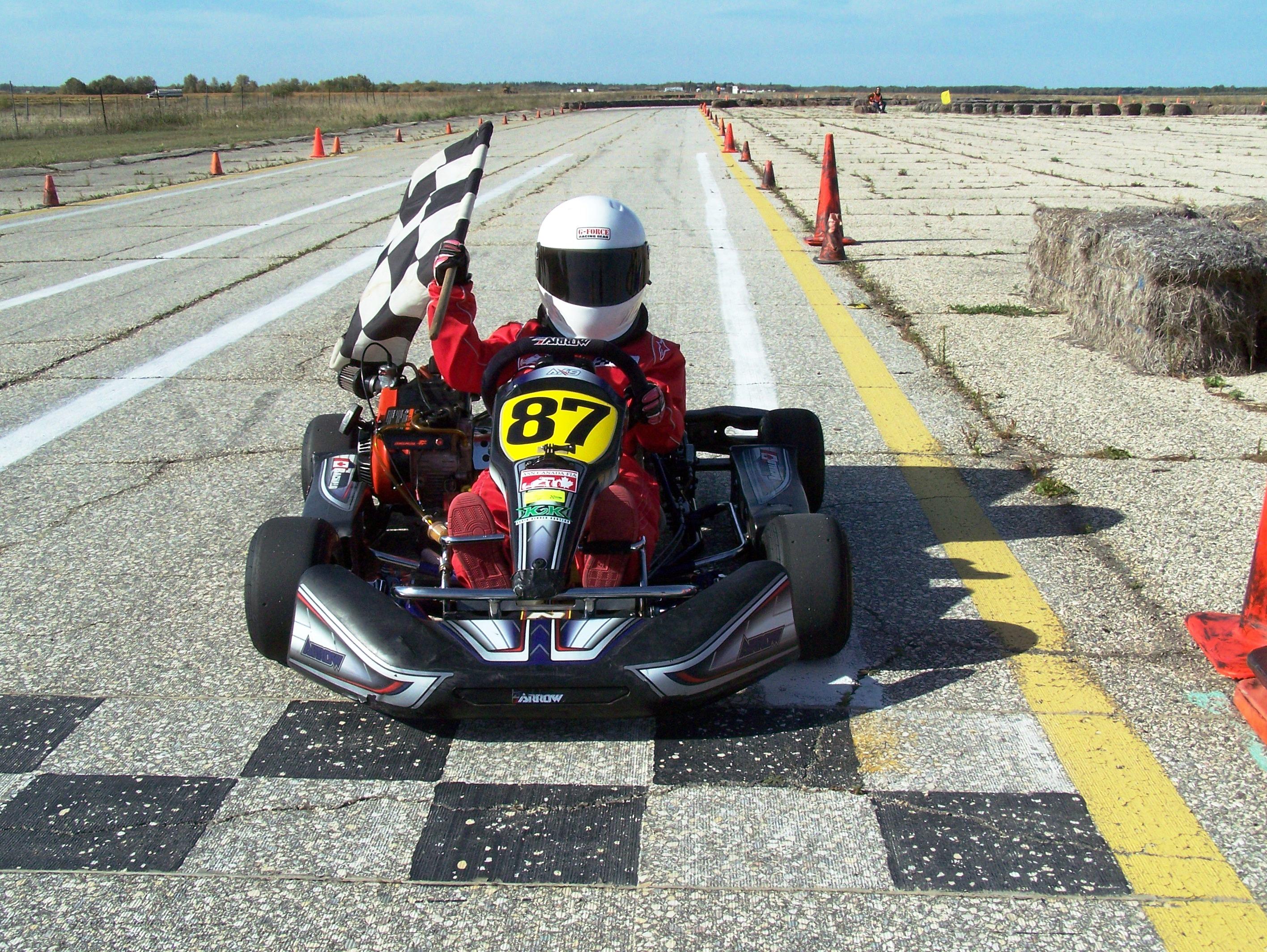 Brad Bachalo J1 Briggs MKA Class Winner