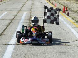 Jill Berard Micro Max Class Winner Race 4 & 5