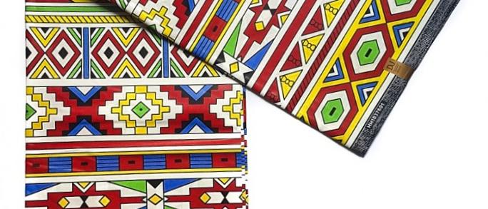 Ndebele Print Fabric