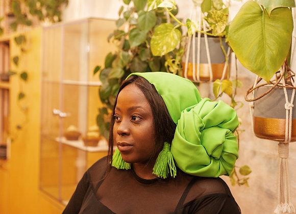 Primary Green Headwrap