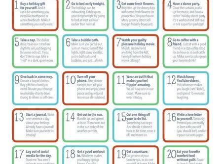 Self-care Advent Calendar