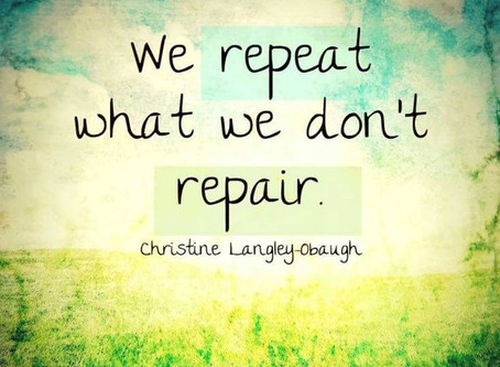 Repairing ourselves