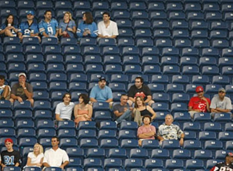 Empty Seats Outnumber Fans in Several NFL Stadiums