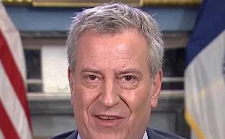 De Blasio Warns Trump — 'History Is Going to Judge Him Very Harshly
