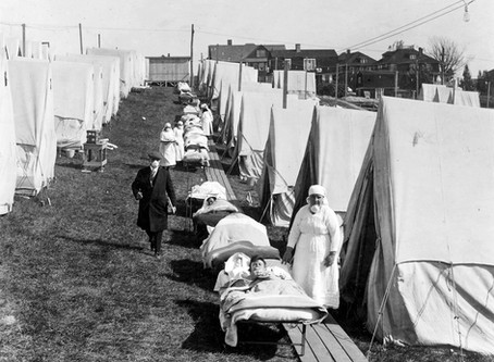 Coronavirus and the Sun: a Lesson from the 1918 Influenza Pandemic
