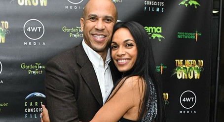 Why Rosario Dawson Isn't Quarantining With Boyfriend Cory Booker