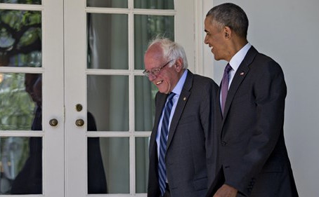 Report: Obama Had 'Long Conversations' With Bernie Sanders, Pressed Him Out Of Primary Race
