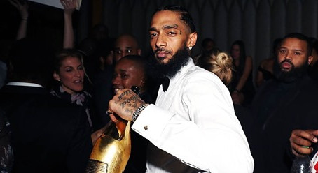 Nipsey Hussle's girlfriend posts tribute on anniversary of his death