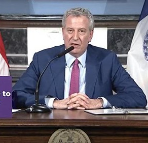 NYC Mayor Bill de Blasio: Stop Church Services, or I'll Shut You Down Permanently