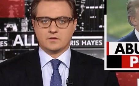 MSNBC's Chris Hayes Mutes Trump: POTUS 'Genuine Threat to Public Health