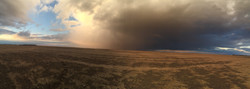Passing storm by Faulkton, SD