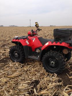 Sampling in Crawford County Iowa