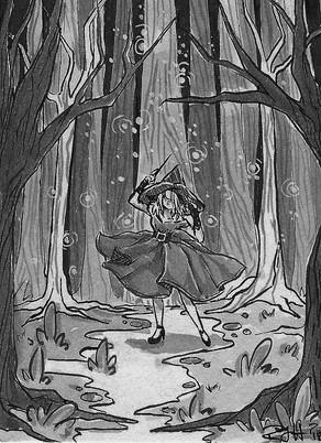DAY 4: Spell/Fairy Lights