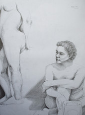 1.5 hour pose, two figures