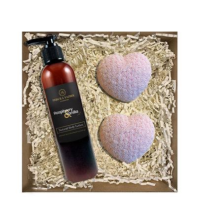 Raspberry & Vanilla Kind Gift Set