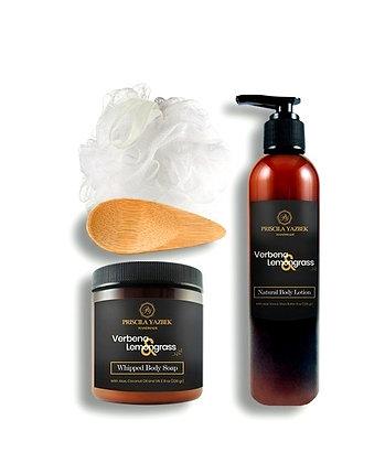 Verbena & Lemongrass Bath & Body Gift Set