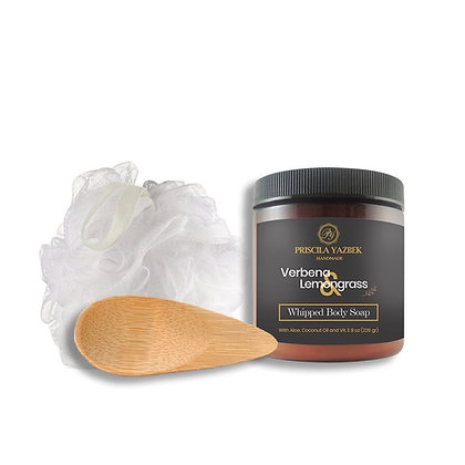 Verbena & Lemongrass Whipped Body Soap