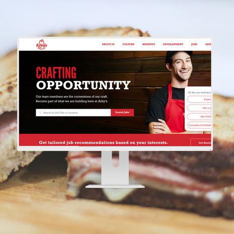 Arby's Career Website