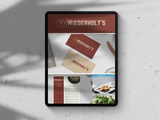 Graphic Design - Wiederholt's Branding