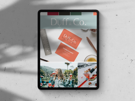 Graphic Design - Duff & Co
