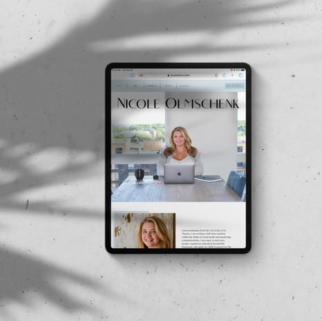 Nicole Olmschenk Website