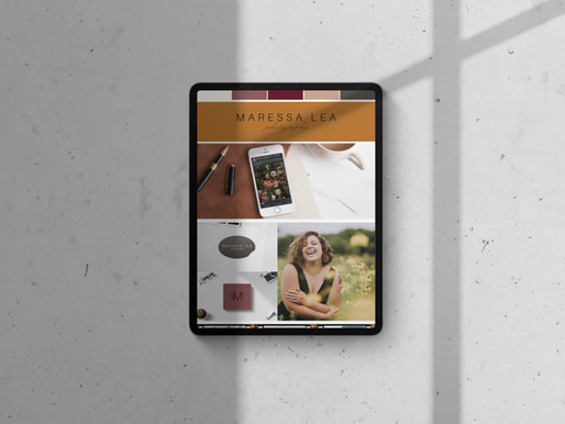 Graphic Design - Maressa Lea Photography