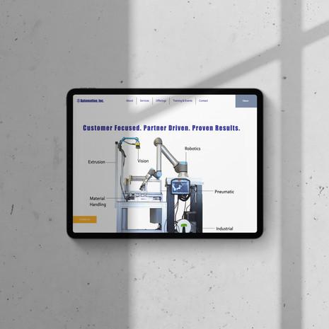 Automation, Inc. Website Launch